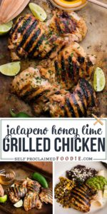Jalapeno Honey Lime Grilled Chicken