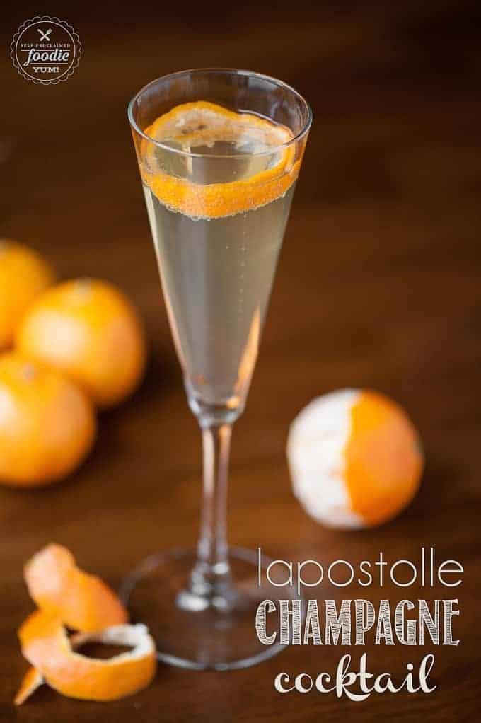 Lapostolle Champagne Cocktail | Self Proclaimed Foodie