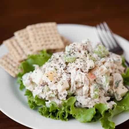 Leftover Turkey Salad