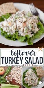 leftover turkey salad recipe