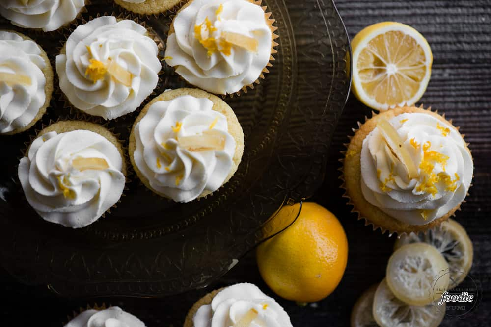 How to make lemon cupcakes using real lemon