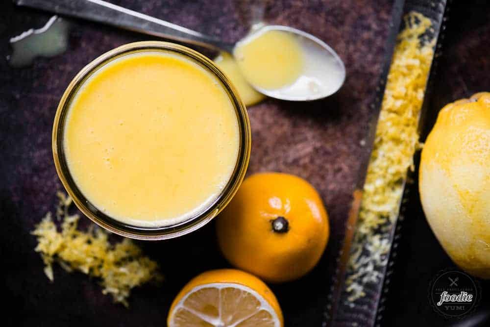 Easy recipe for homemade lemon curd