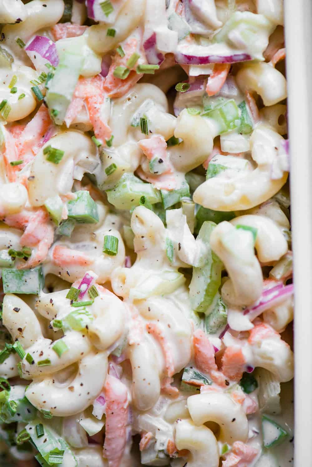 how to make the best Macaroni Salad