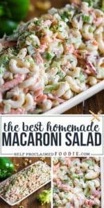 recipe for creamy Macaroni Salad