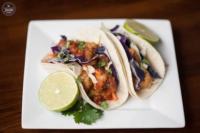 Bring the flavor of the islands to your family dinner table by making these fabulous Mahi Mahi Fish Tacos wrapped in soft corn tortillas.