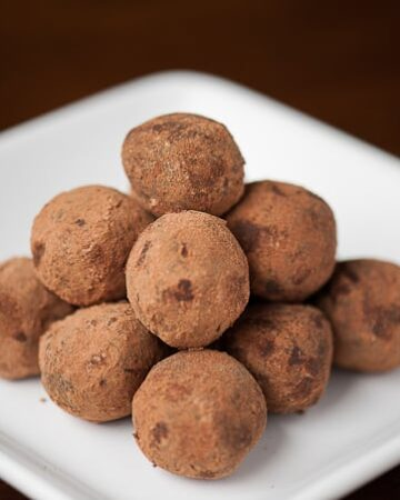 These Mexican Chocolate Truffles made with real Ceylon cinnamon, vanilla, and almond extract are easy to make and delicious bite sized holiday treats.