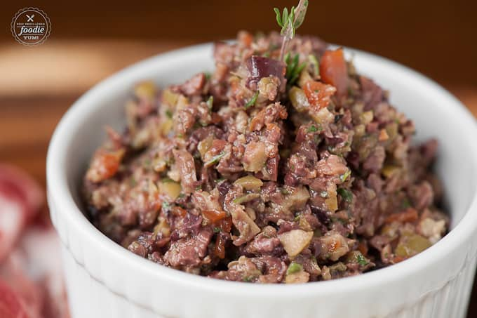 Mixed Olive Tapenade | Self Proclaimed Foodie