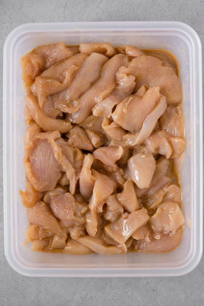 velvet chicken breast for chinese food recipe