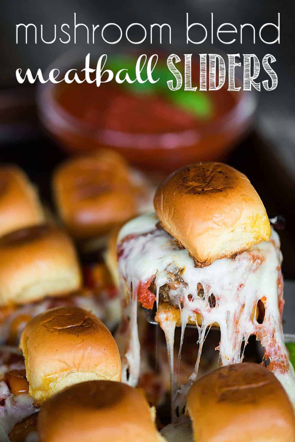 how to make the best sliders with a blend of ground beef and mushrooms