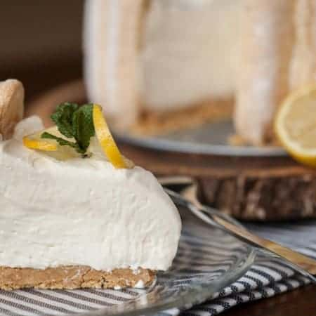 Perfect for any celebration, this perfectly sweet NO BAKE LEMON LADYFINGER CHEESECAKE is a wonderful citrus dessert that everyone will love!