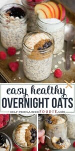 overnight oats healthy