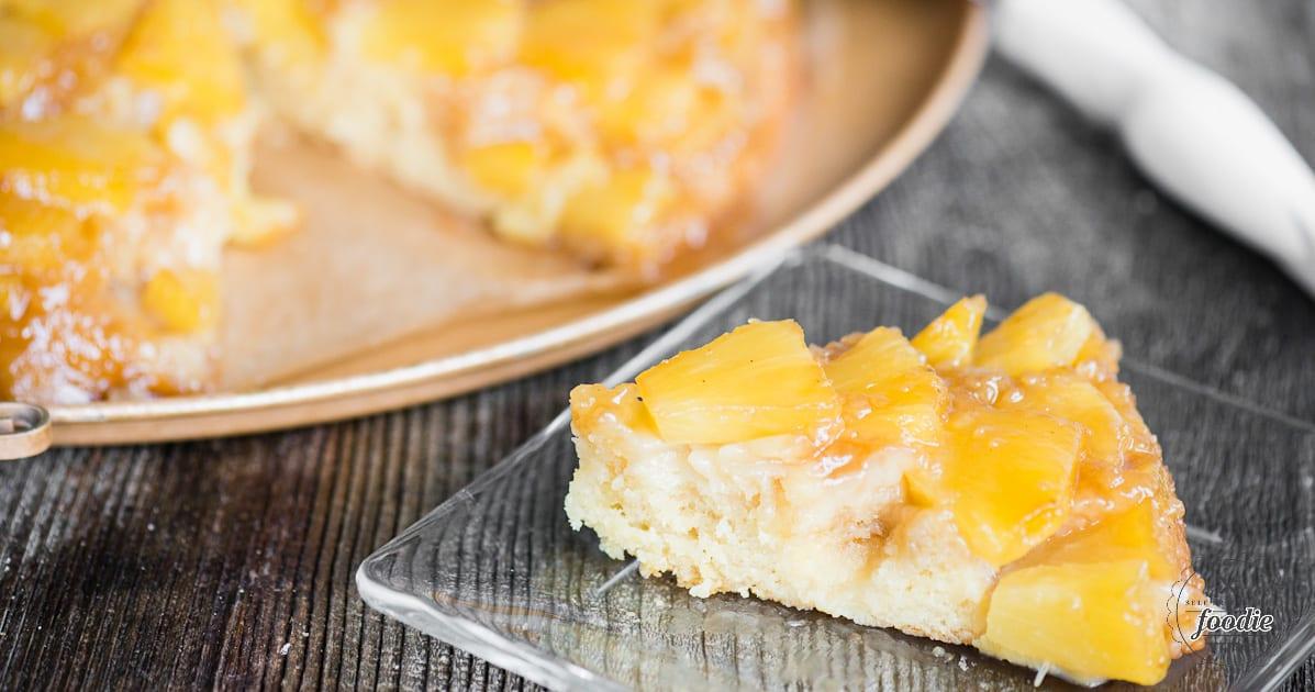 Pineapple Upside Down Cake | Self Proclaimed Foodie