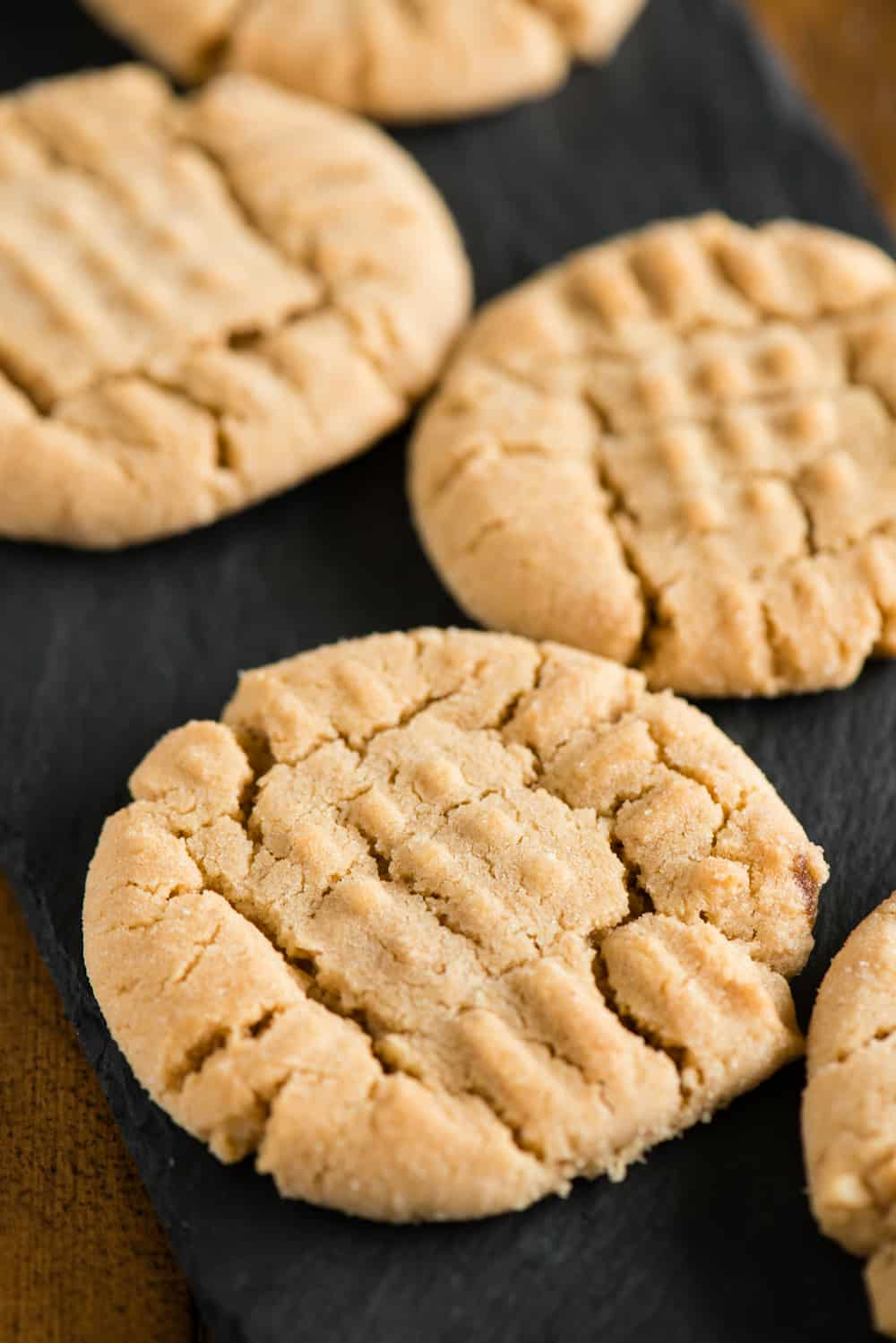 recipe for the best chewy peanut butter cookies