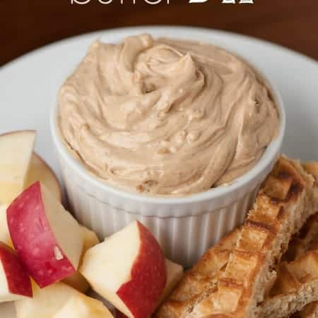 Create an easy-to-make snack and pair apple slices, waffle sticks and celery with this kid-friendly Peanut Butter Dip treat.