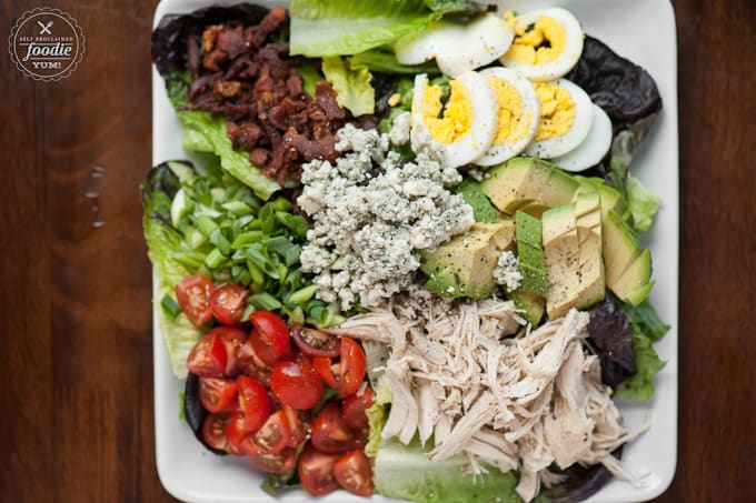 This Easy To Make Perfect Cobb Salad Has Everything You Want In A Delicious Summer Salad