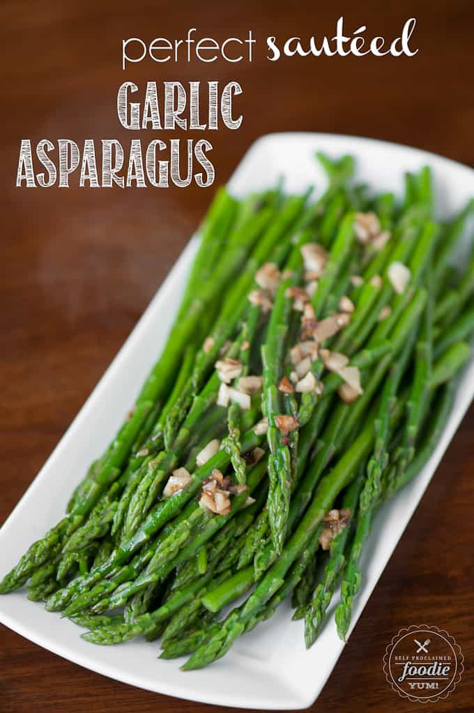 In Less Than Ten Minutes You Can Make The Most Delicious Perfect Sauteed Garlic Asparagus
