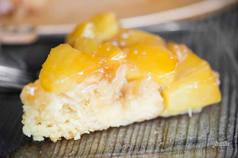 How to make Pineapple Upside Down Cake in a cast iron skillet