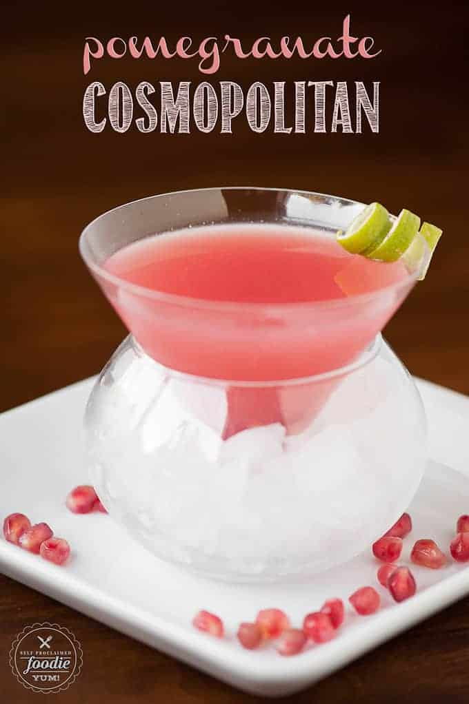 Pomegranate Cosmopolitan | Self Proclaimed Foodie