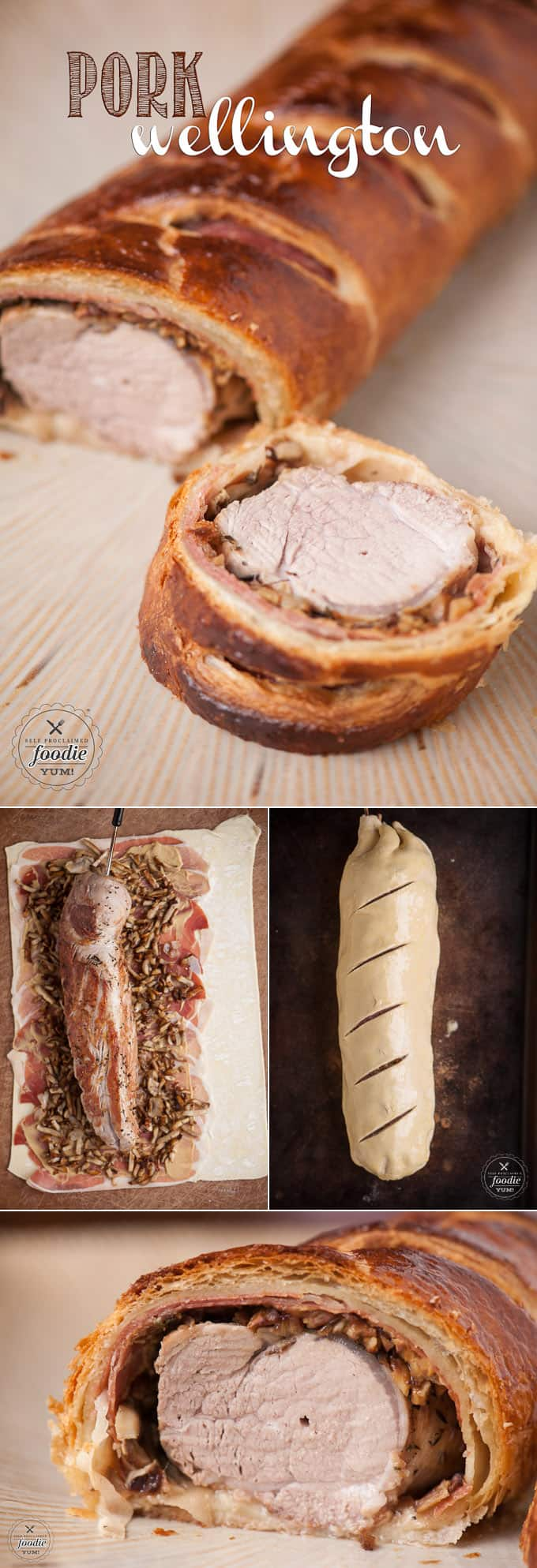 If you're looking for an easy dinner that is sure to impress everyone because of its amazing taste and presentation, choose Pork Wellington.