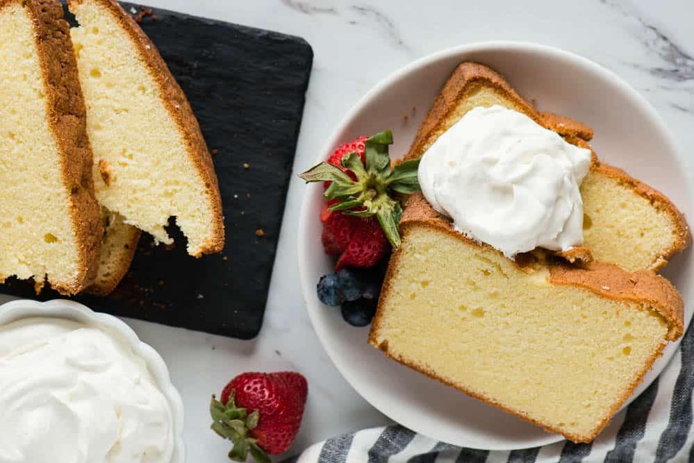 traditional pound cake recipe