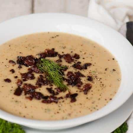 Pressure Cooker Potato Leek Soup