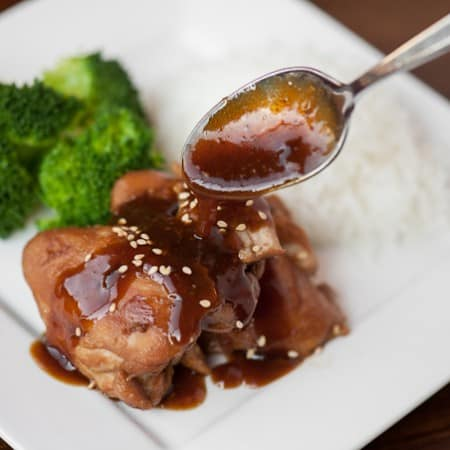 This insanely delicious Pressure Cooker Shoyu Chicken, or Hawaiian Sesame Chicken, is a moist and flavorful dinner that takes only minutes to create.