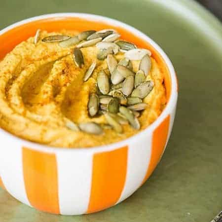 Pumpkin Curry Hummus