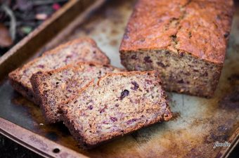 Raspberry Banana Bread uses a traditional, moist, easy banana bread recipe and incorporates freeze dried raspberries. Perfect for breakfast or as a snack on the go, Raspberry Banana Bread is a new way to enjoy this traditional favorite recipe!