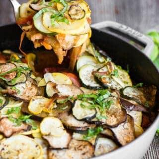 vegetarian Ratatouille recipe