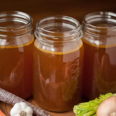 Roasted Beef Broth