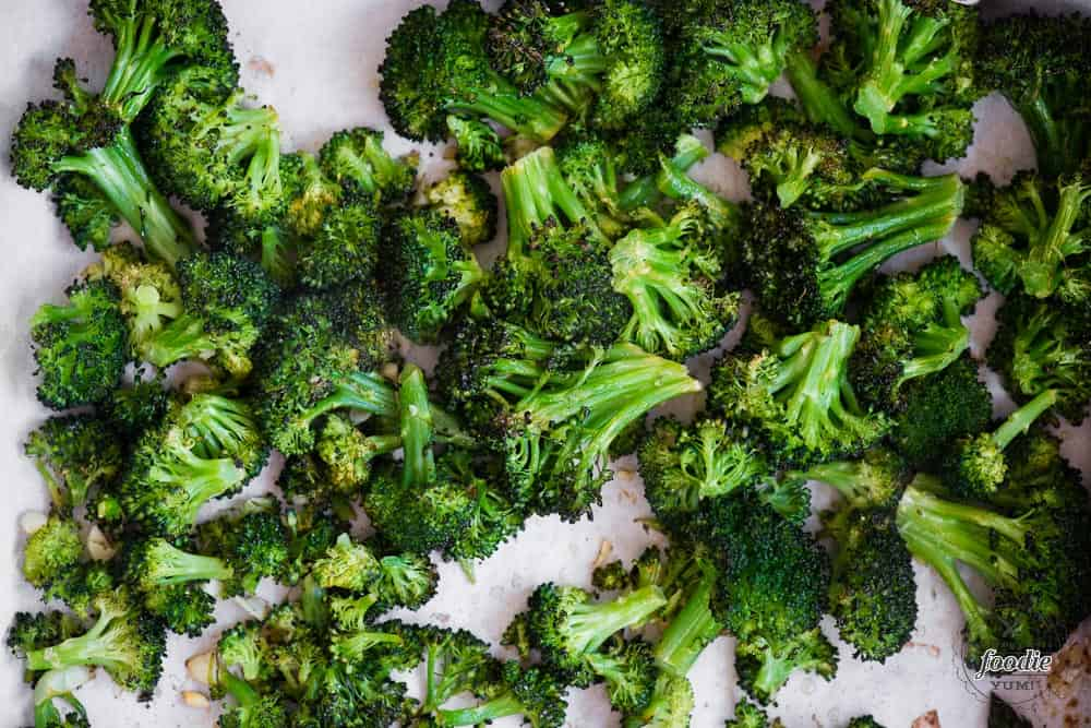 How to make perfect Roasted Broccoli in the oven