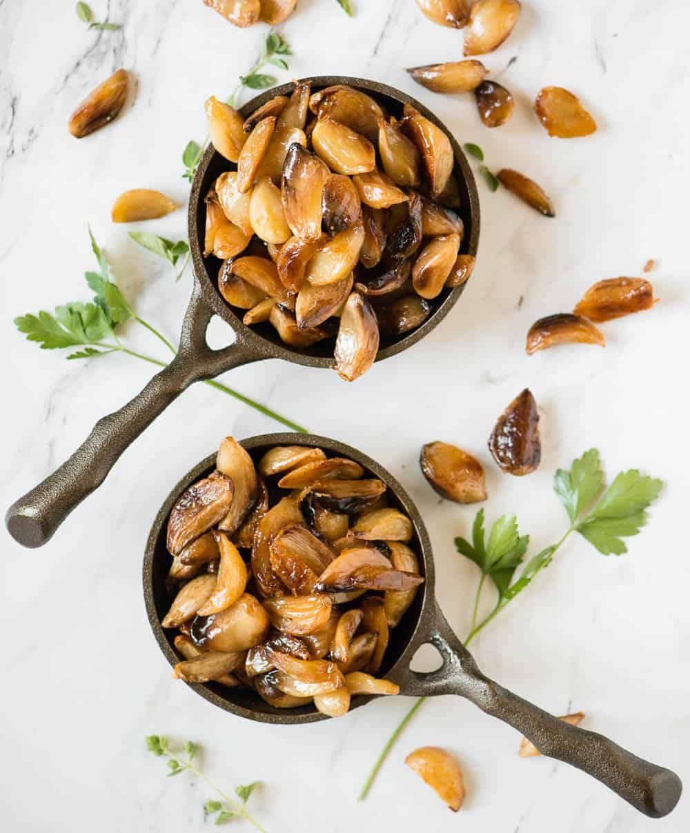 easiest way to make roasted garlic