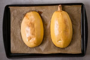 Spaghetti Squash that has been roasted