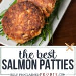 recipe for the best salmon patties