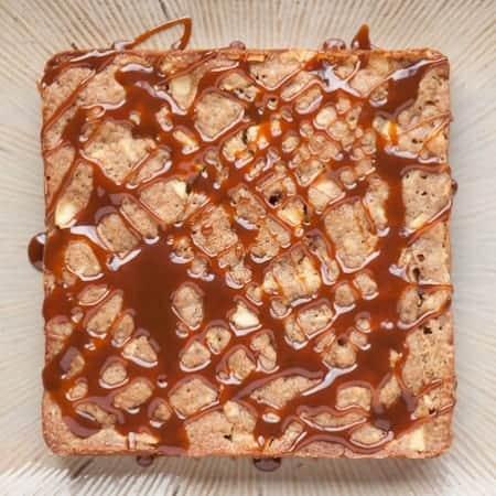 Salted Caramel Fresh Apple Cake