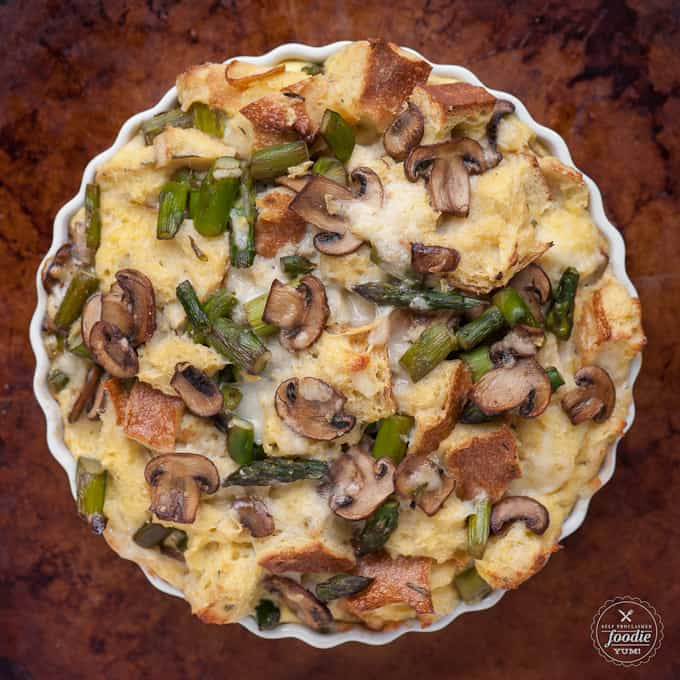 Savory Bread Pudding | Self Proclaimed Foodie