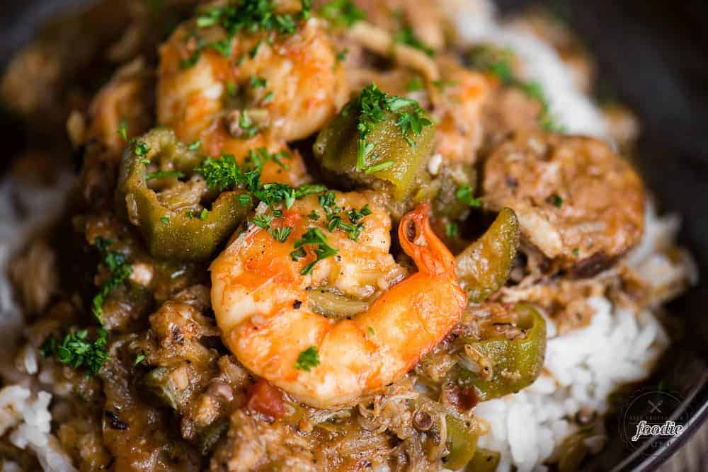 Authentic seafood gumbo recipe