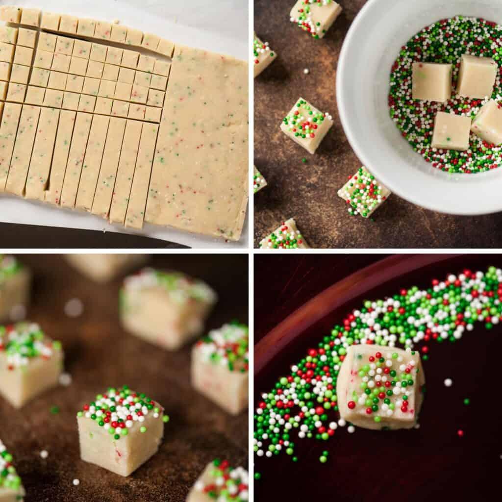 shortbread cookie recipe process photos