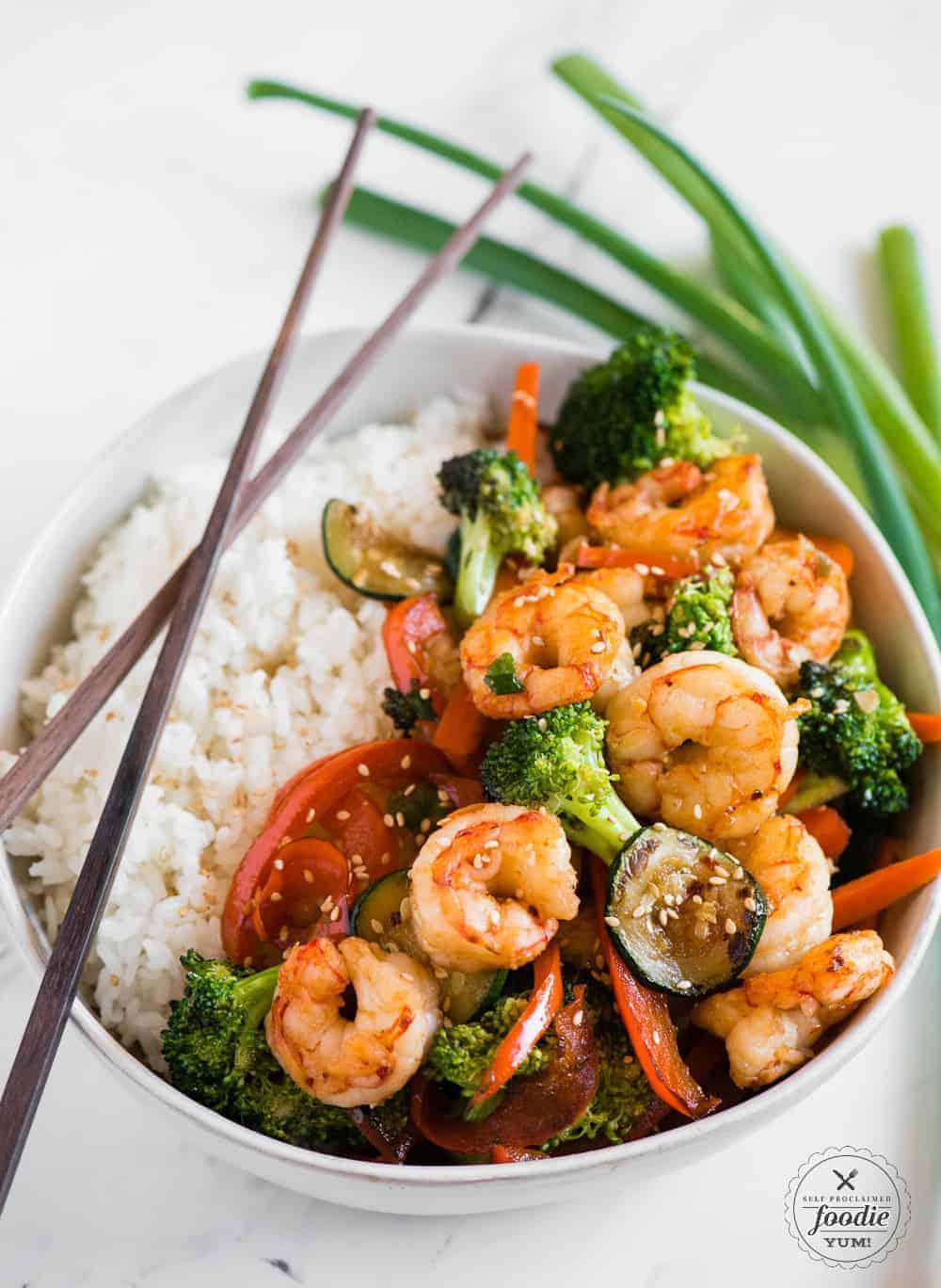 the best shrimp stir fry recipe