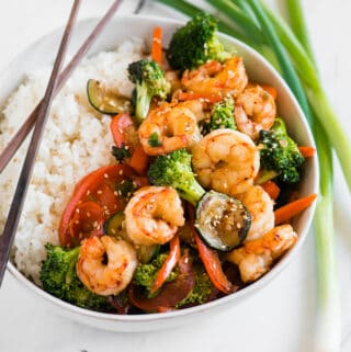 easy shrimp stir fry recipe with rice