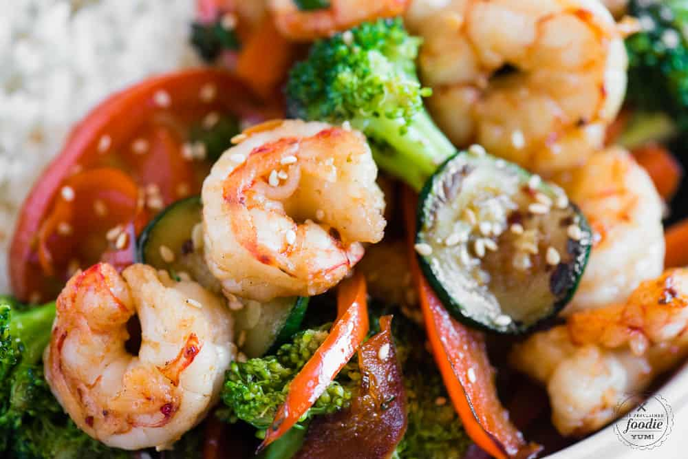how to make stir fry with shrimp