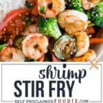 healthy easy shrimp stir fry recipe