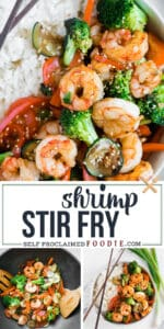 healthy easy shrimp stir fry recipe