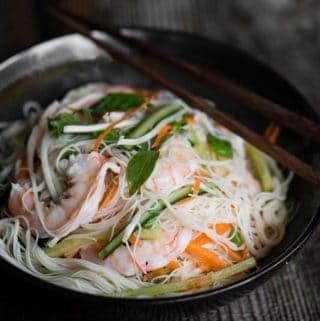 The most delicious Shrimp Vermicelli Salad