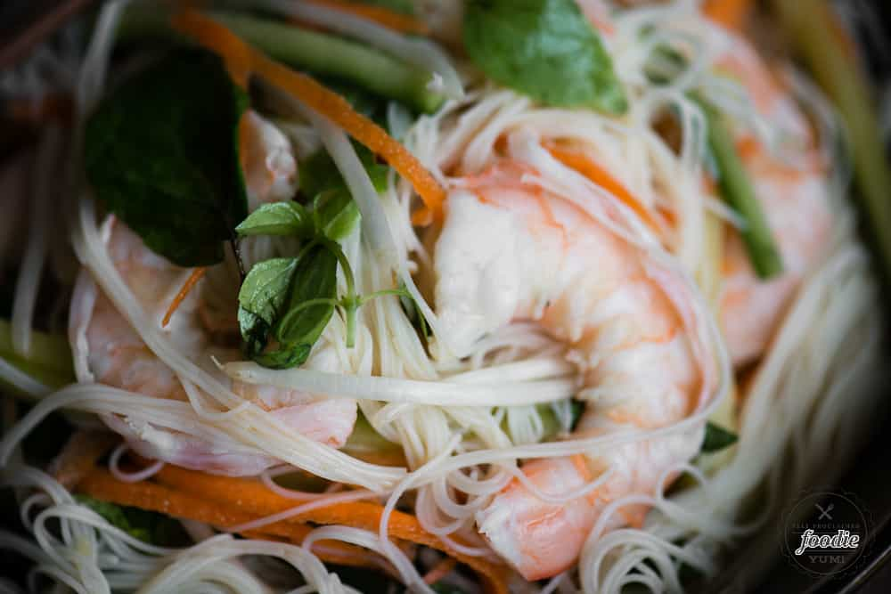 How to make Shrimp Vermicelli Salad