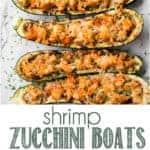recipe for shrimp zucchini boats