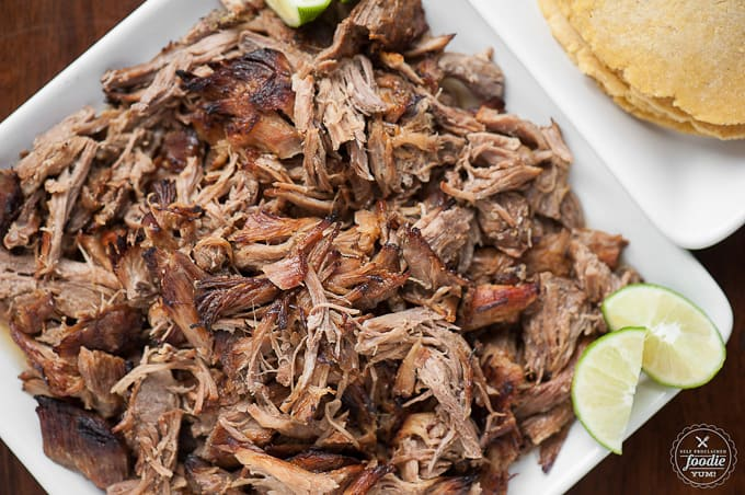 If its not quite yet barbecue weather, use your crockpot to make flavorful pork roast Slow Cooker Carnitas for an easy dinner that your family will love.