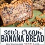 super moist banana nut bread with sour cream recipe