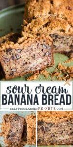 super moist banana nut bread with sour cream recipe