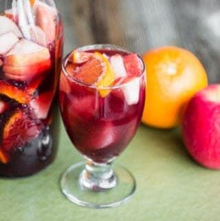 Sparkling Red Sangria Recipe